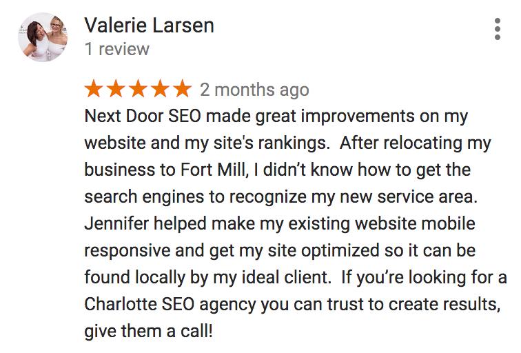 Next Door SEO reviews for digital marketing services