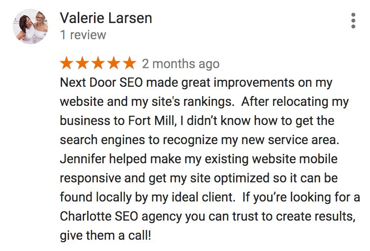 Next Door SEO reviews for digital marketing services